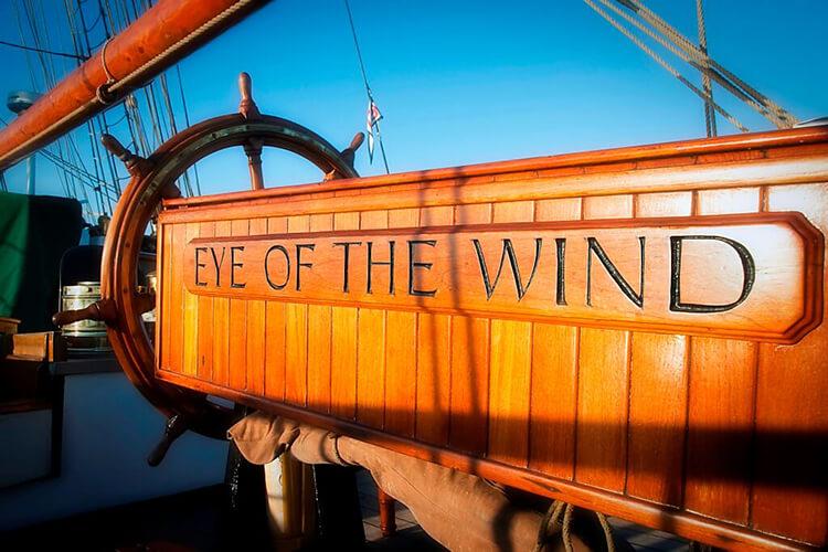 Außenaufnahme Eye Of The Wind