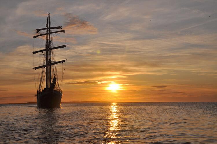 Antigua Sonnenuntergang